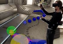 Human Upper-Body Inverse Kinematics for Increased Embodiment in Consumer-Grade Virtual Reality